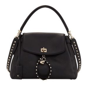Valentino Garavani Twiny Rockstud Shoulder Bag